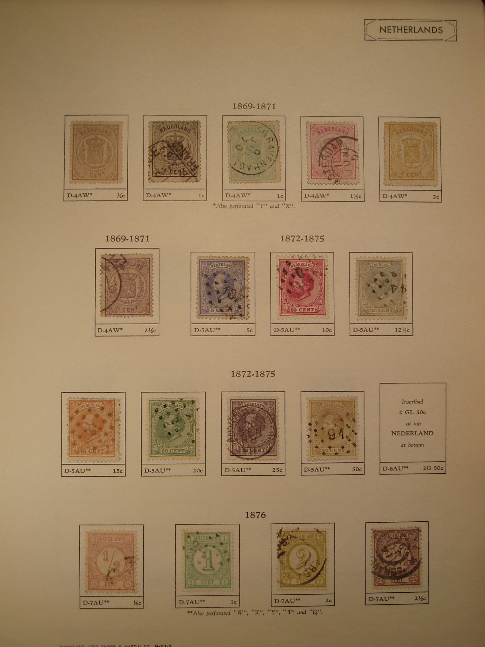 The Tervo Rare Stamp Collection: Netherlands